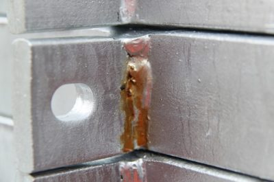 Discolouration of Galvanised Steel