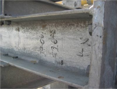steel condition and galvanizing
